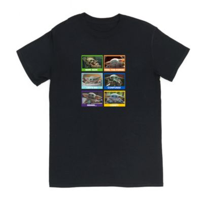 Grogu Moods Customisable T-Shirt For Adults, Star Wars