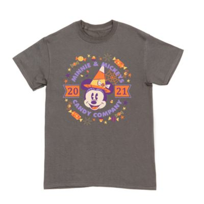 Minnie Mouse Candy Company Halloween Customisable T-Shirt For Adults