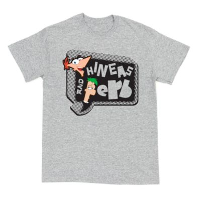 Phineas and Ferb Customisable T-Shirt For Adults