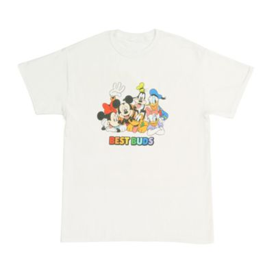 Mickey and Friends 'Best Buds' Customisable T-Shirt For Adults