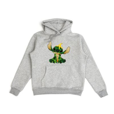 Disney Store The Jungle Book Stitch Crashes Disney Customisable Hooded Sweatshirt For Adults, 9 of 12