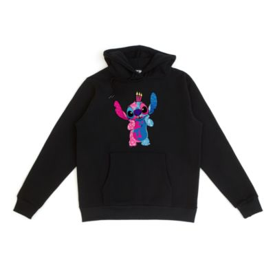Disney Store Sleeping Beauty Stitch Crashes Disney Customisable Hooded Sweatshirt, 7 of 12