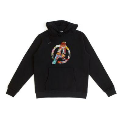 Avengers Logo Customisable Hooded Sweatshirt For Adults