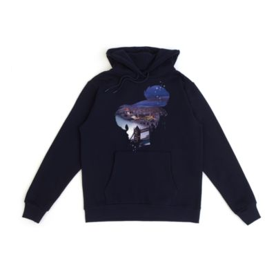 Tinker Bell Silhouette Customisable Hooded Sweatshirt For Adults