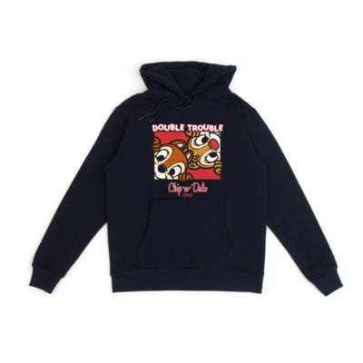 Chip 'n' Dale Double Trouble Customisable Hooded Sweatshirt For Adults