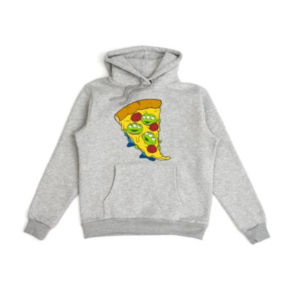 Aliens Pizza Customisable Hooded Sweatshirt For Adults