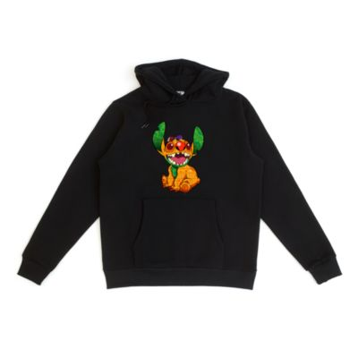 The Lion King Stitch Crashes Disney Customisable Hooded Sweatshirt For Adults, 3 of 12