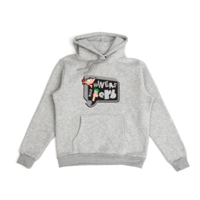 Phineas and Ferb Customisable Hooded Sweatshirt For Adults