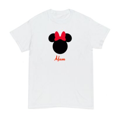 Minnie Mouse Icon Customisable T-Shirt For Adults