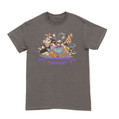 Mickey and Friends Halloween Customisable T-Shirt For Adults