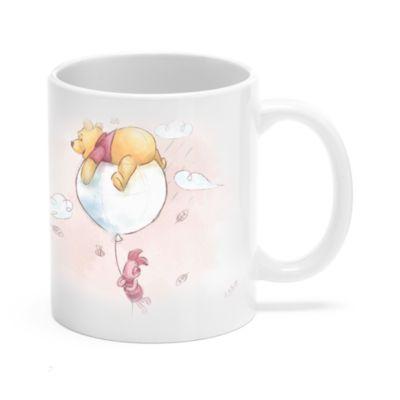 Winnie the Pooh and Piglet Customisable Mug