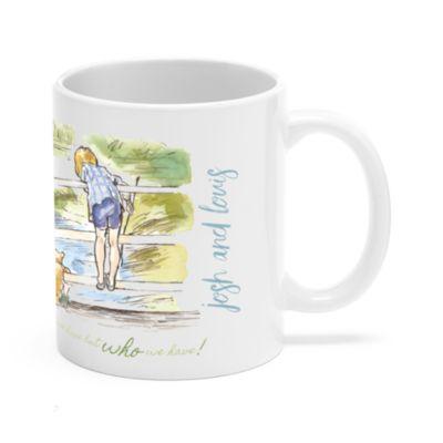 Winnie the Pooh and Christopher Robin Customisable Mug