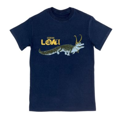 Alligator Loki Customisable T-Shirt For Kids