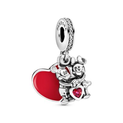 Disney X Pandora Mickey Mouse & Minnie Mouse Love Dangle Charm