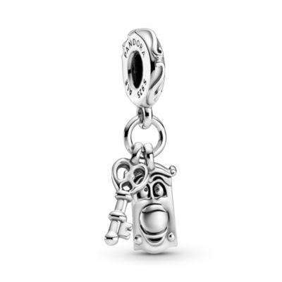 Disney X Pandora Alice in Wonderland Key & Door Knob Dangle Charm