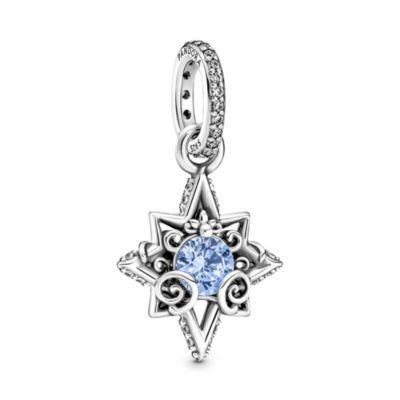 Disney X Pandora Cinderella Blue Star Pendant