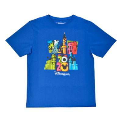 Disneyland Paris 2020 Blue T-Shirt For Adults